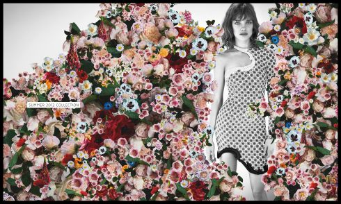 Stella McCartney sets the floral mood with the SS 2012 Campaign with Natalia Vodianova (photo credits www.stellamccartney.com)