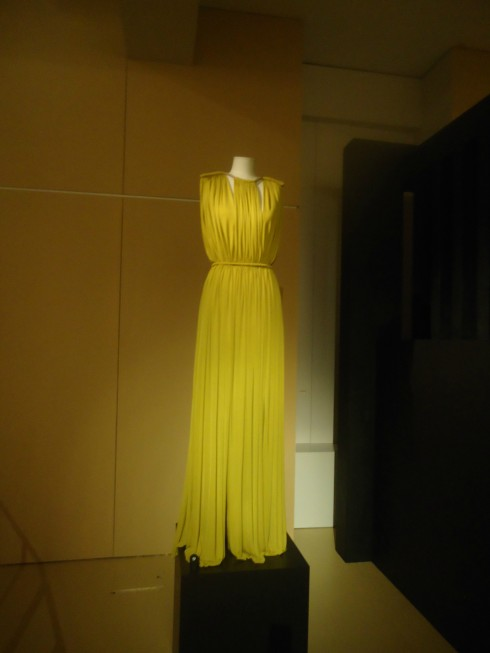 Lanvin (Alber Elbaz) evening dress in Jersey - Cruise Collection 2012